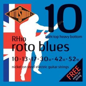 Cordes Elèctrica Rotosound Roto Blues 10-52