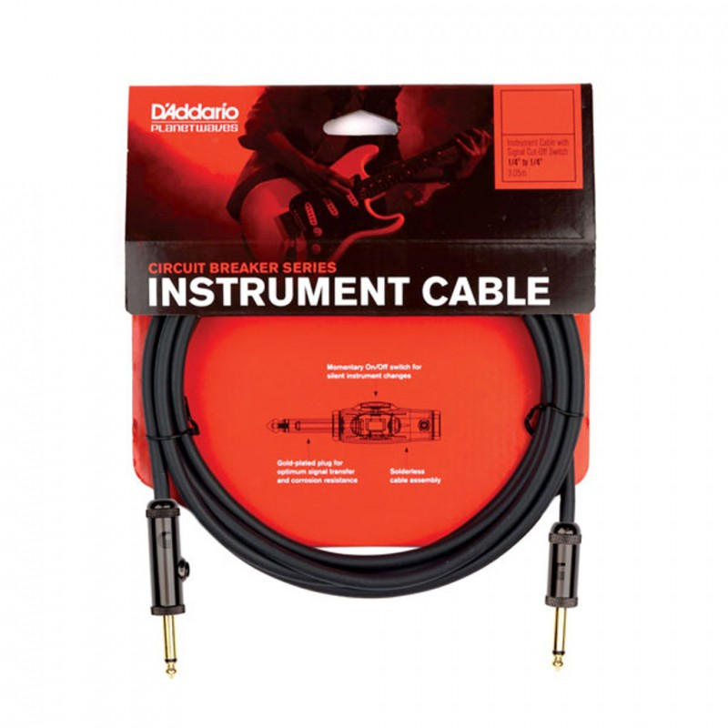 Cable de Instrumento Planet Waves PW-AG30 Circuit Breaker 9m.