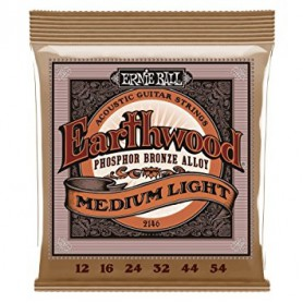 Ernie Ball 2146 Regular Slinky Phosphor Bronze Acoustic Strings 12-54