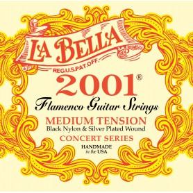 Cordes de Guitarra Clàssica La Bella 2001 Flamenco Medium Tension