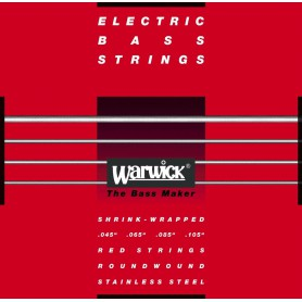 Warwick 42200M Red Label Bass Strings 45-105