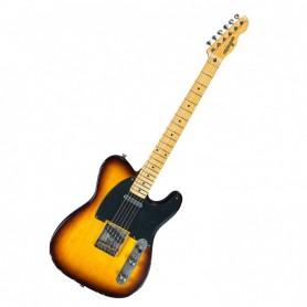 Guitarra Eléctrica Maybach Teleman T54 2 Tone Sunburst