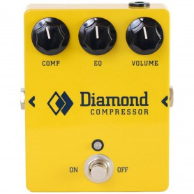 Pedal Diamond Guitar Compressor
