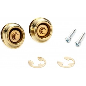 Dunlop Straplock Dual Design Brass