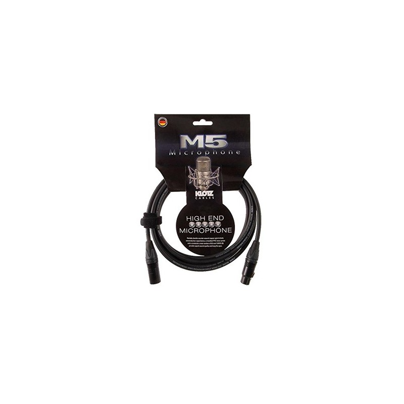 Cable Micrófono Klotz M5FM10 10m.