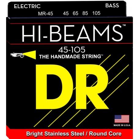 Cuerdas Bajo DR Strings MR-45 Hi Beam 45-105