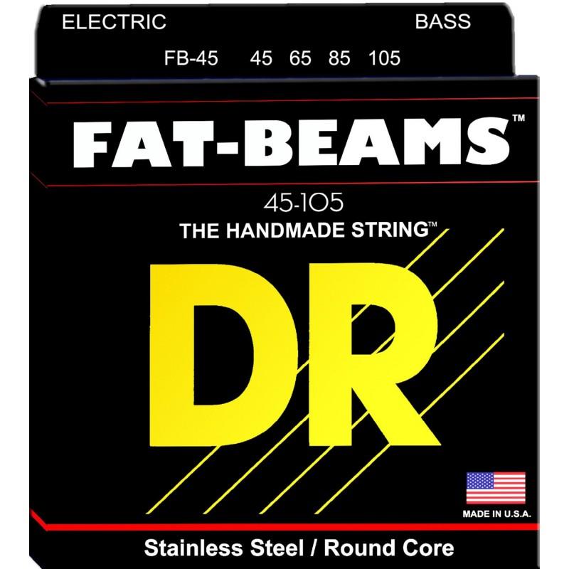 Cuerdas Bajo DR Strings Fat Beams FB-45 45-105