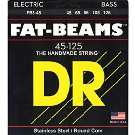 Cuerdas Bajo DR Strings Fat Beams FB-45 45-105
