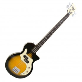 Bajo Orange O-Bass Sunburst