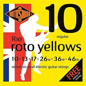 Rotosound Roto Yellows Electric Strings 10-46