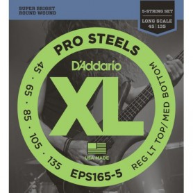 D´Addario EPS165 Pro Steels Bass Strings 45-105