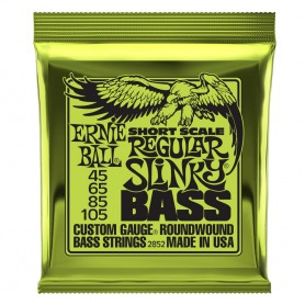 Cuerdas Bajo Ernie Ball 2852 Short Scale Super Slinky 45-105