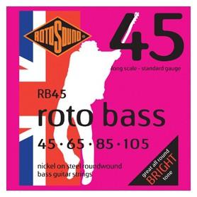 Cuerdas Bajo Rotosound Roto Bass 45-105