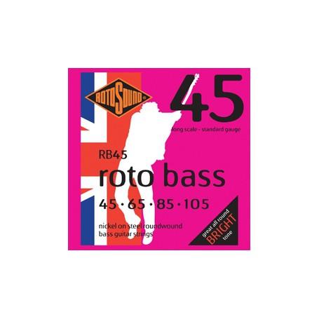 CuerdasBajoRotosoundRotoBass45-105