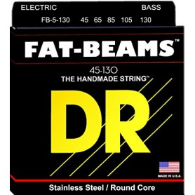 Cuerdas Bajo DR Strings Fat Beams FB5-130 45-130