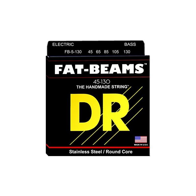 Cuerdas Bajo DR Strings Fat Beams FB5-130 45-130