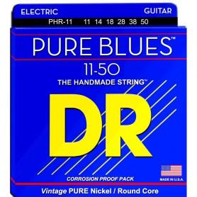 Cuerdas Eléctrica DR Strings Pure Blues PHR-11 11-50