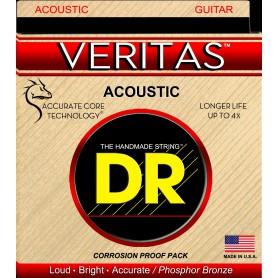 Cuerdas Acústica DR Strings Veritas VTA-10 10-48