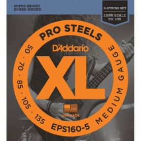 D´Addario EPS165-5 Pro Steels 45-135
