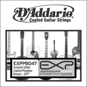 Cuerda Suelta Acústica D'Addario EXPPB047