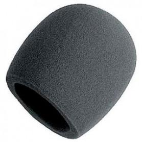 Antivent per Micròfon Negre