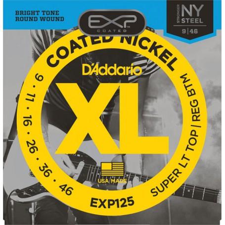 Cuerdas Eléctrica D´Addario EXP125 Coated 09-46