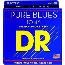 DR Strings Pure Blues 10-46 Electric Strings