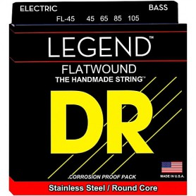 DR Strings FL-45 Legend Flatwound 45-105