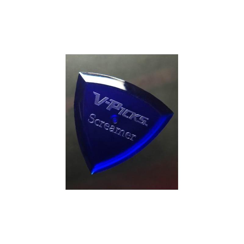 Púa V-Picks Screamer Sapphire Blue