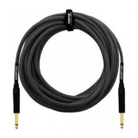 Orange Instrument Black Cable 3m.
