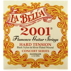 La Bella 2001 Flamenco Hard Tension Classical Guitar Strings