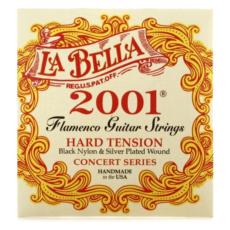 Cuerdas de Guitarra Clásica La Bella 2001 Flamenco Hard Tension