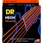 Cuerdas Eléctrica DR Strings NOE-10 NOE-10 Neon 10-46 Orange