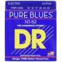 Cuerdas Eléctrica DR Strings Pure Blues 10-52