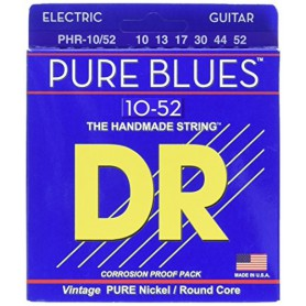 Cuerdas Eléctrica DR Strings Pure Blues 10-52