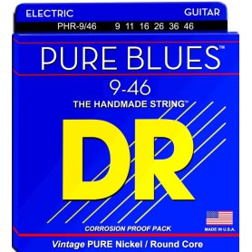 Pure Nickel Electric Guitar Strings wound on Round Cores.