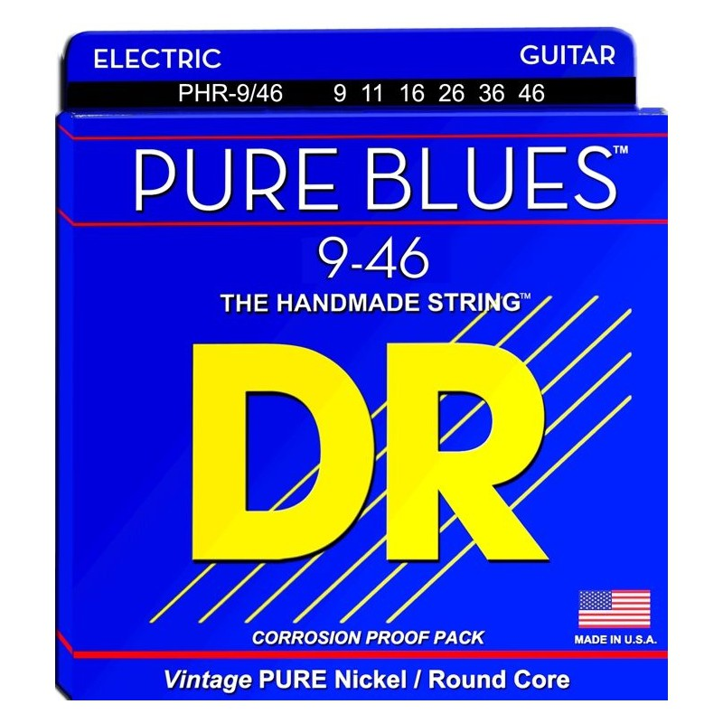 Cuerdas Eléctrica DR Strings Pure Blues 09-46
