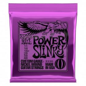 Cuerdas Eléctrica Ernie Ball 2220 Power Slinky 11-48
