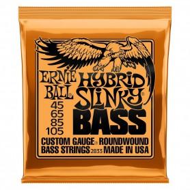 Cuerdas Bajo Ernie Ball 2833 Hybrid Slinky 45-105