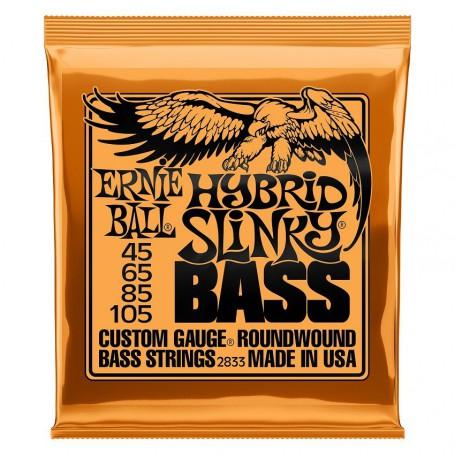 Cuerdas Bajo Ernie Ball 2833 Hybrid Slinky 45-105-105