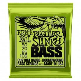 Cuerdas Bajo Ernie Ball 2832 Regular Slinky 50-105