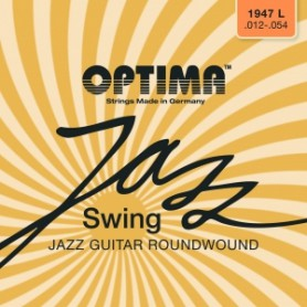 Cuerdas Eléctrica Optima Jazz Swing Roundwound 11-49