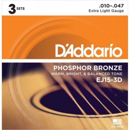 CuerdasAcusticaDAddarioEJ15-3DPhosphorBronze10-47