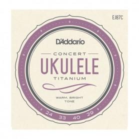 Cuerdas_Ukelele_DAddario_EJ87C_Titanium_Concert