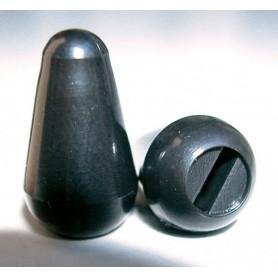 Botón de Switch tipo Strato Negro