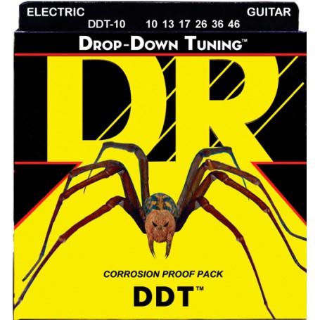 Cuerdas Eléctrica DR Strings DDT 10-46