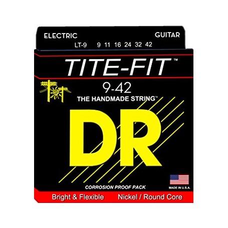 Cuerdas Eléctrica DR Strings Tite Fit 09-42