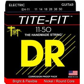 Cuerdas Eléctrica DR Strings EH-11 Tite Fit 11-50