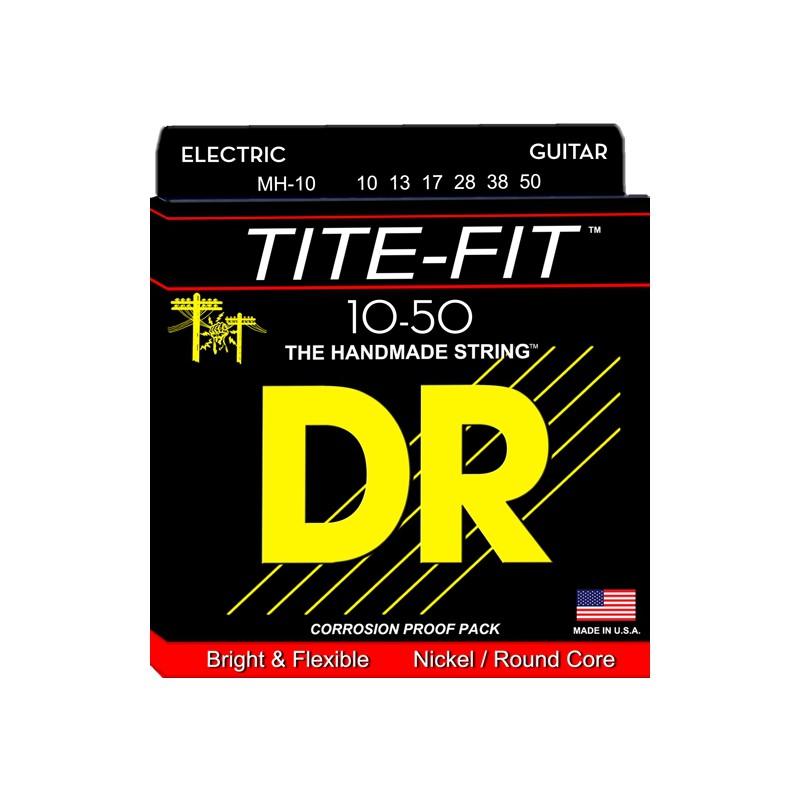 Cuerdas Eléctrica DR Strings Tite Fit 10-50