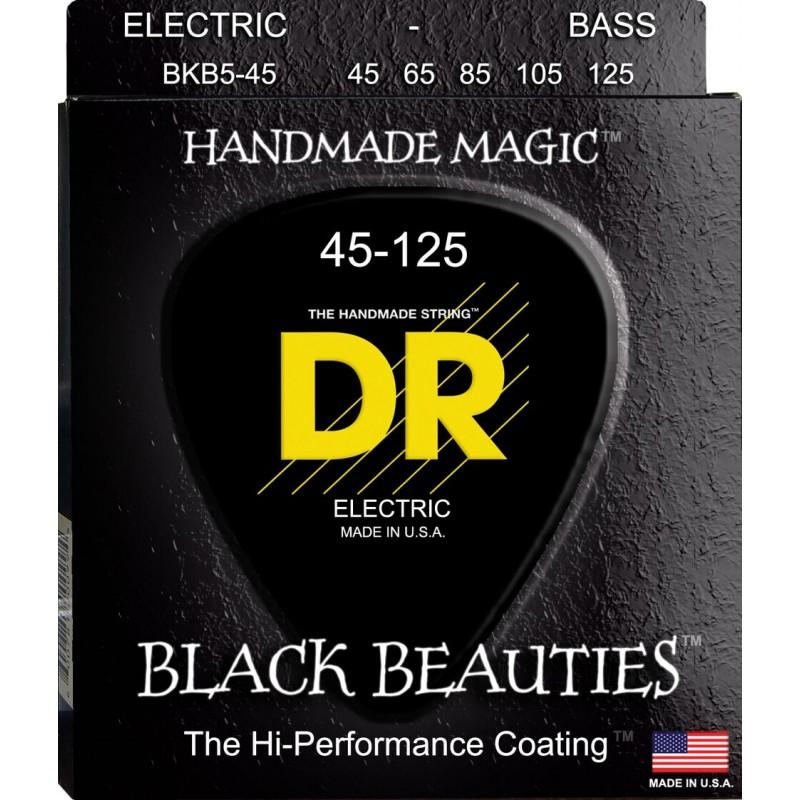 Cuerdas-Bajo-DR-Strings-Black Beauties 45-125